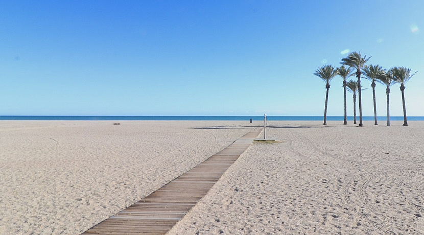Roquetas de Mar, playa