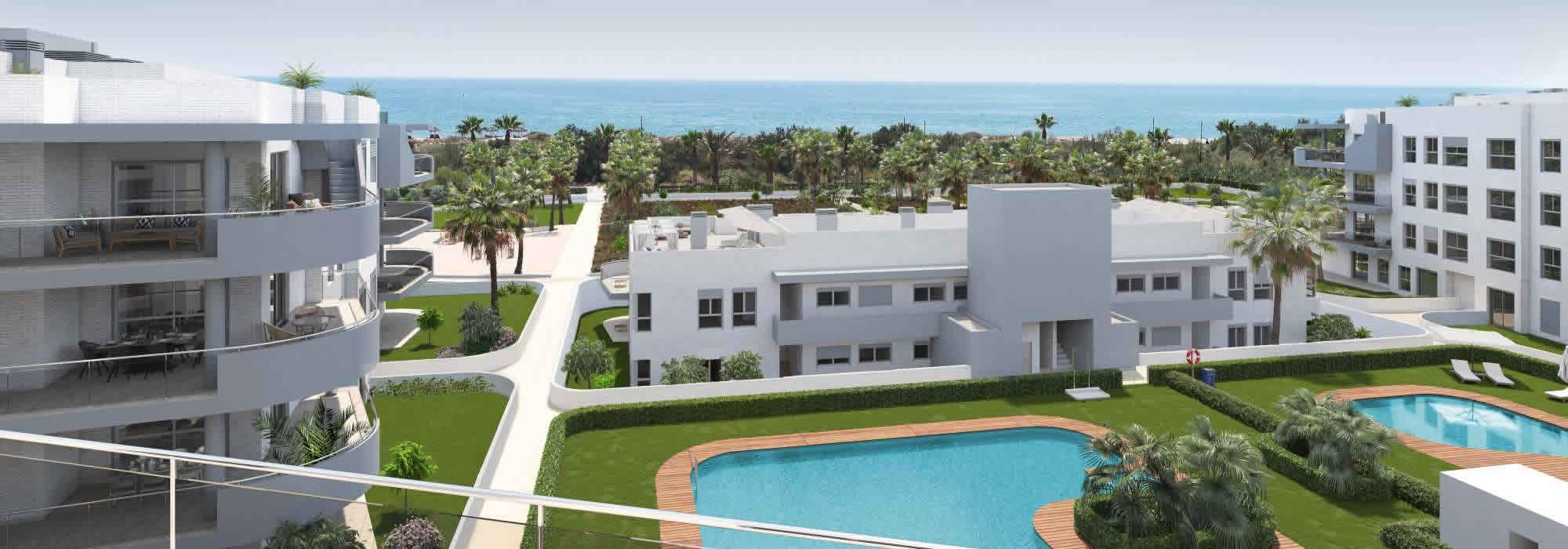 Un residencial nuevo de alta calidad en Almerimar