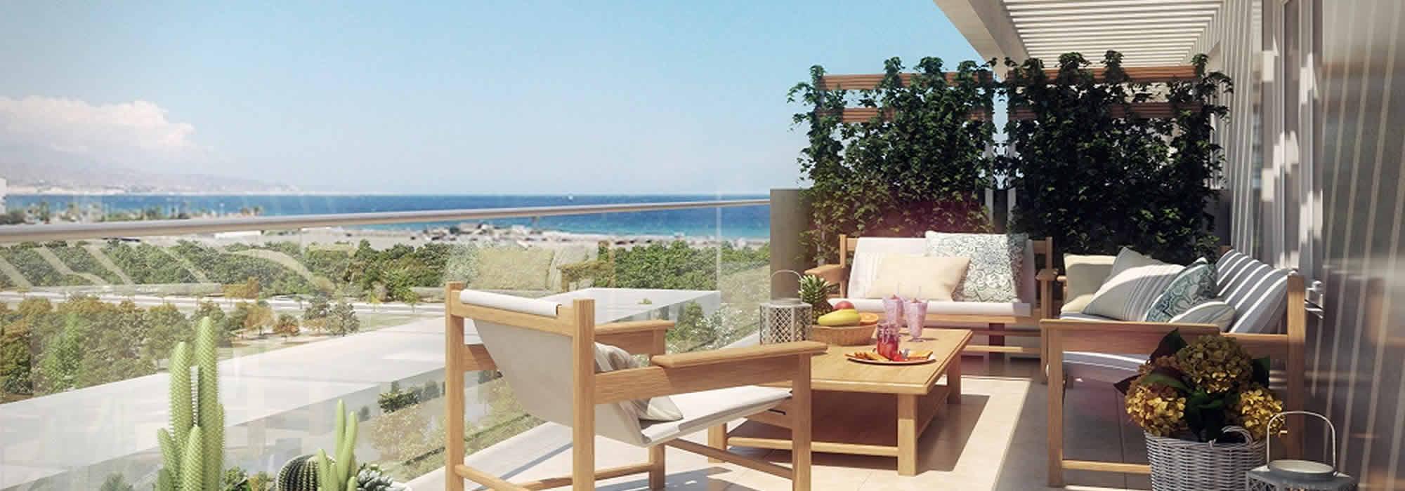 Pisos nuevos a un paso de la playa en Torre del Mar
